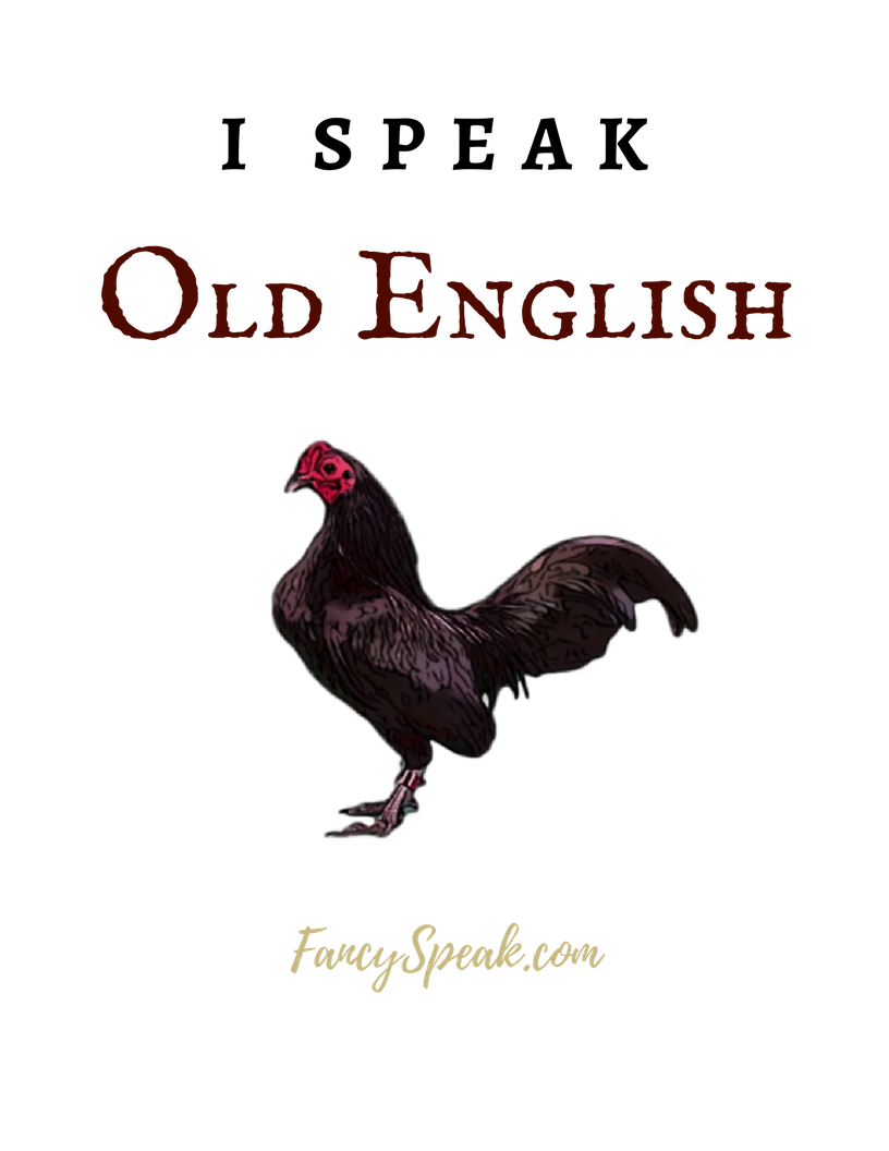 Old English Game Bantams For Sale