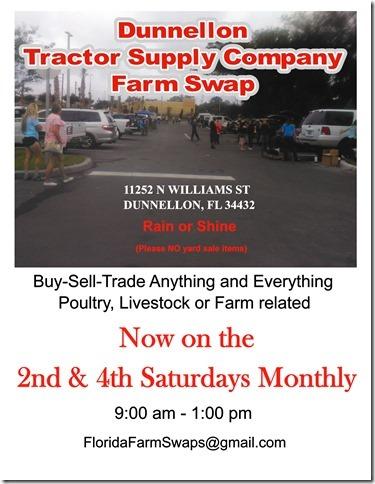 Dunnellon Tractor Supply Company Farm Swap Meet